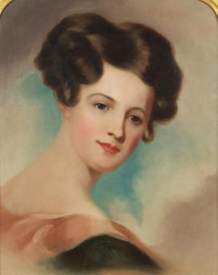 Portrait of a Lady by Jane Cooper Sully Darley (1807-1877, American)