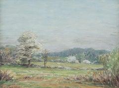 Apple Blossoms, Greenwich, CT by Mina Fonda Ochtman (1862-1924, American)