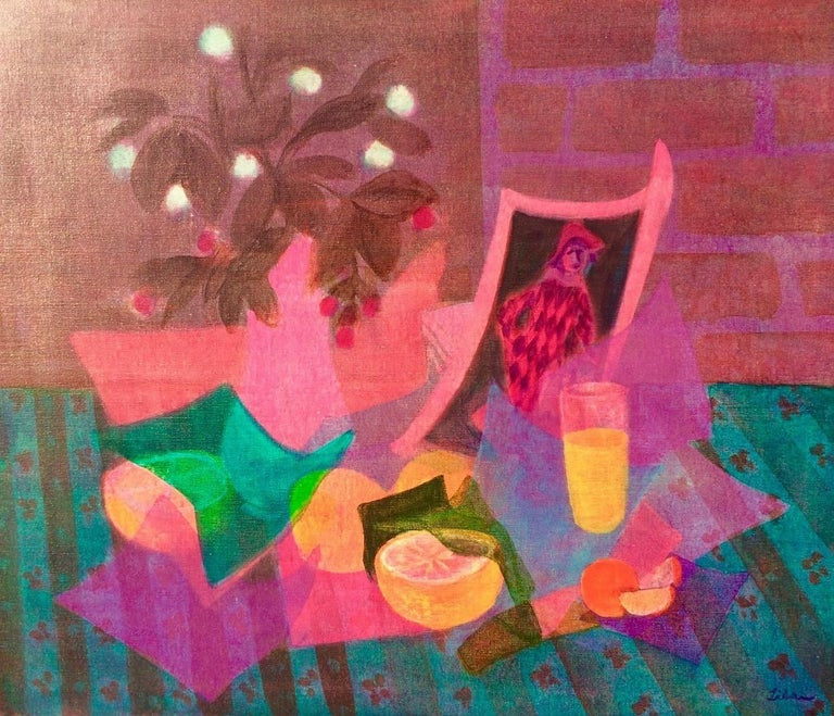 Gustav Likan, who lived from 1912 to 1998, has emerged as one of the most important colorists of the twentieth century. Early in life, he achieved international fame as an artist and was honored as a Master Student at the Munich Academy of Fine