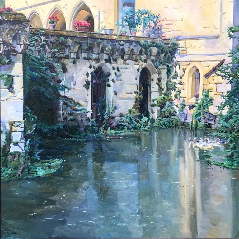 Bartolome Sastre Landscape Painting - Chateau de Champagne