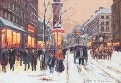 Untitled Winter Street Scene