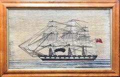 British Woolie in Maple Frame
