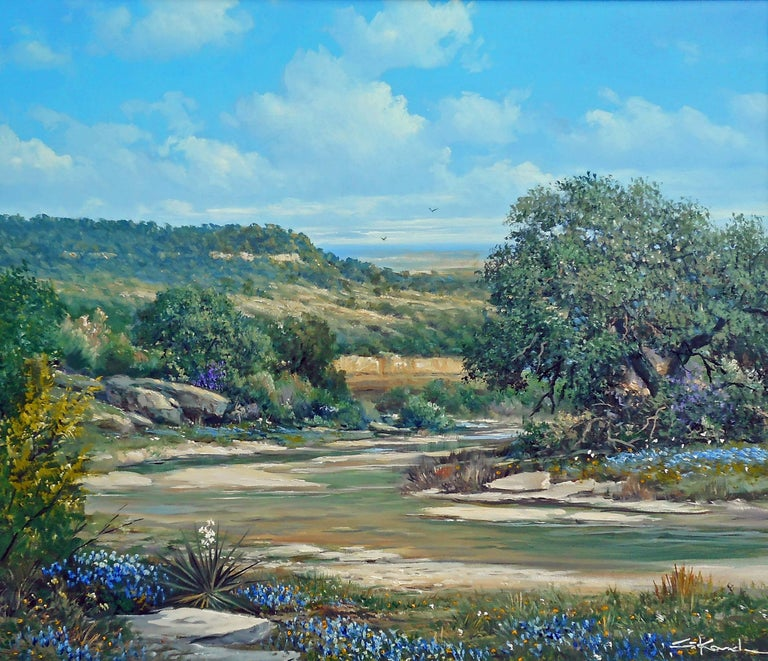 Heart of Texas - Painting by George Kovach