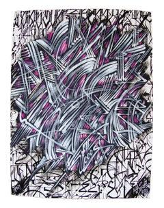 """Rapture"" 7/8 Hand-Painted Edition by Alex Kizu (aka DEFER)"