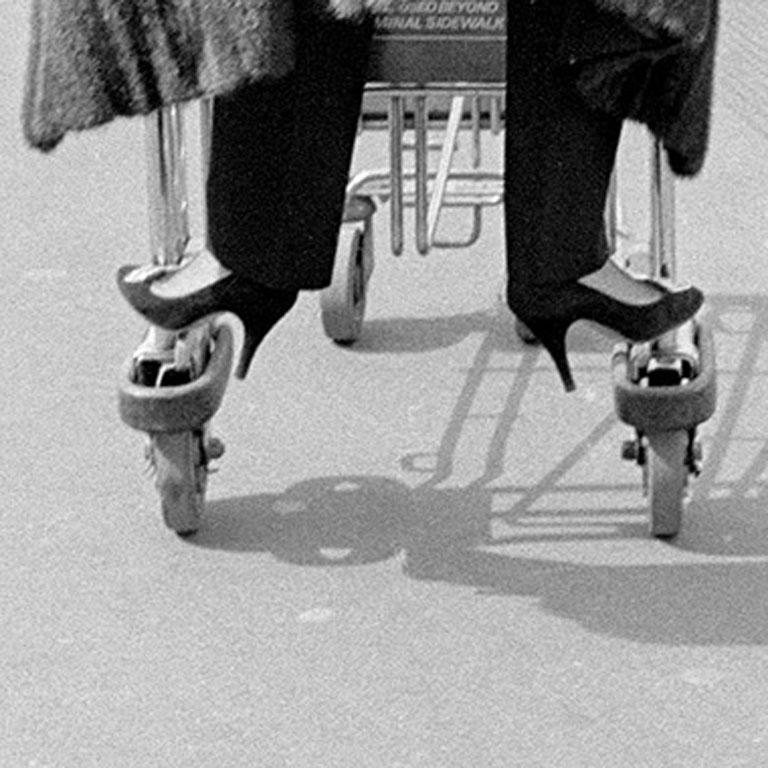 Fur Coat on the Run, Tunisia, 1983   *Price listed is UNFRAMED, please see framed price below FRAMED  10
