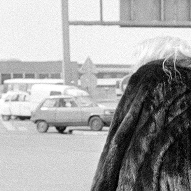 Fur Coat on the Run, Tunisia, 1983, Photography For Sale 1