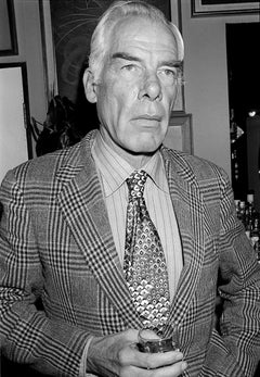 Lee Marvin, La Trattoria Terrazza, London, 1976    Photograph