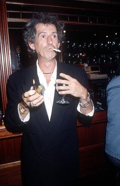 Keith Richards, Cobden Working Men's Club, London, 1993,  Photography