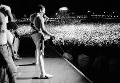 Freddie Mercury, Queen in Concert, Rock In Rio Festival, Rio de Janeiro, 1985