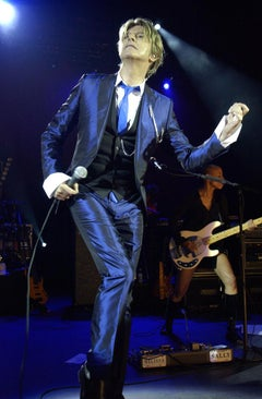 David Bowie in Concert at Hammersmith Apollo, London, 2002, Photography