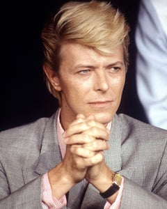 David Bowie, Cannes Film Festival, France, 1983, Photography