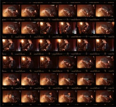 David Bowie, Rainbow Theatre, London, 1989 (Contact Sheet), Photography