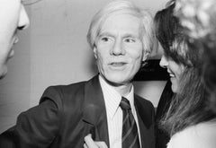 Andy Warhol at the Andy Warhol Exhibition at the ICA, London, 1978, Photography