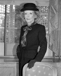 Bette Davis, Grosvenor House Hotel, London, 1987, Photography