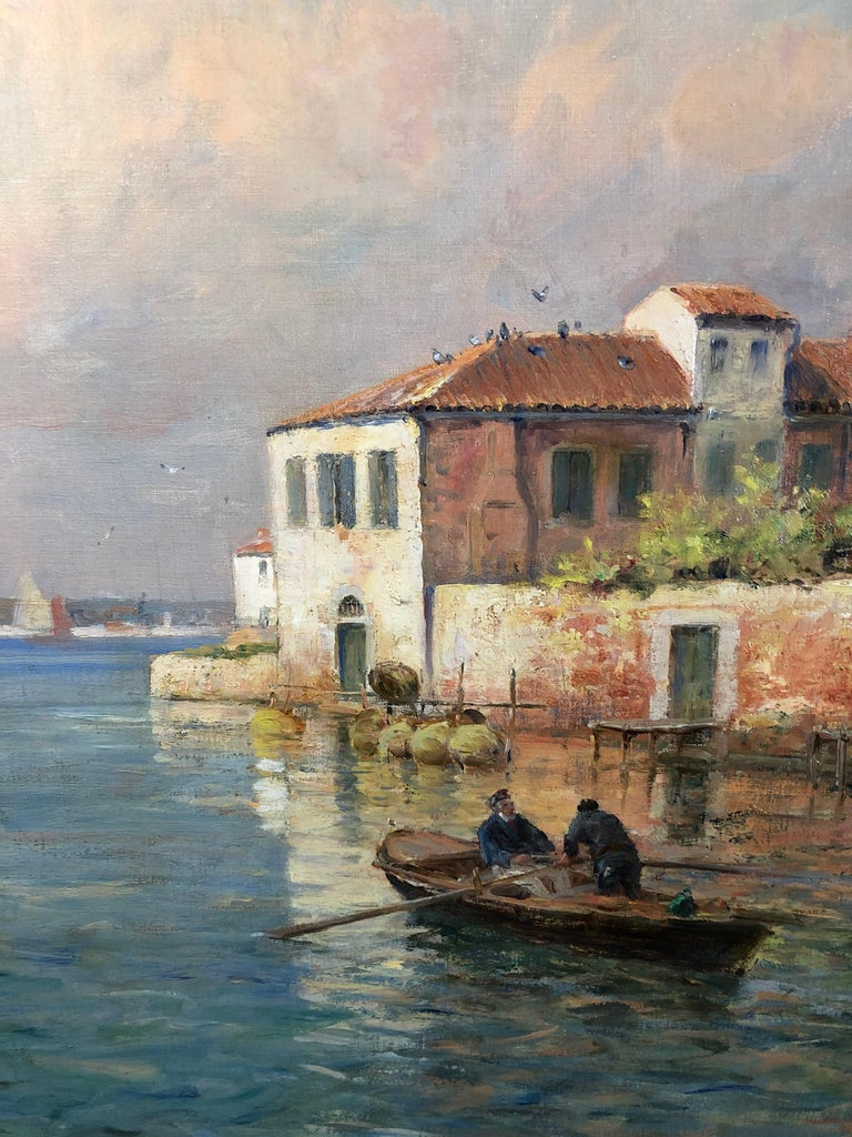 Canal San Pietro, Pont du Guerre, Back of the Arsenal, Venice For Sale 2