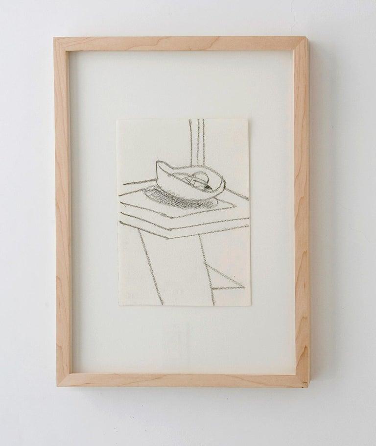 Matthias Weischer Abstract Drawing - Untitled