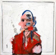 Smoking (Self-Portrait)