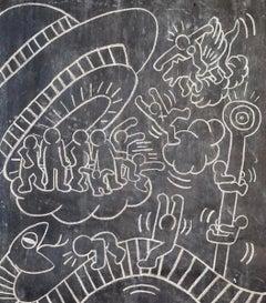 Untitled (Subway Drawing)