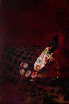Birds 020, Mixed Media, Contemporary, Animals, Painting, Acrylic , Abstract