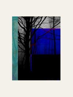 Forest XX - Contemporary, Abstract, Minimalism, Modern, Pop art, Surrealist