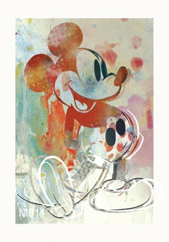 M017-Figurative, Street art, Pop art, Modern, Contemporary, Abstract Mickey Mous