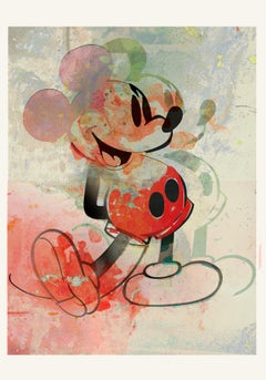 M016-Figurative, Street art, Pop art, Modern, Contemporary, Abstract Mickey Mous