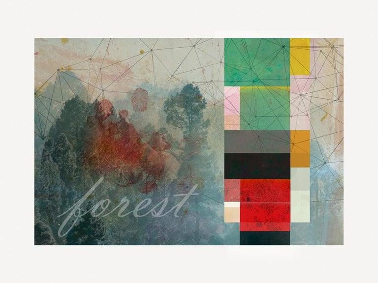 Francisco Nicolás Abstract Print - F0019-Contemporary, Abstract, Minimalism, Modern, Pop art, Surrealist, Landscape