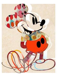 M006-Figurative, Pop art. Street art, Modern, Contemporary, Abstract Mickey Mous