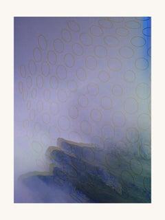 Blue bog -Contemporary, Abstract, Modern, Pop art, Surrealist, Landscape, Nature