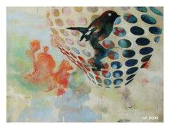 Birds 019- Contemporary, Abstract, Expressionist, Modern, Street art, Surrealist