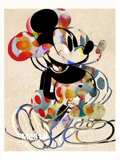M018-Figurative, Pop art. Street art, Modern, Contemporary, Abstract Mickey Mous