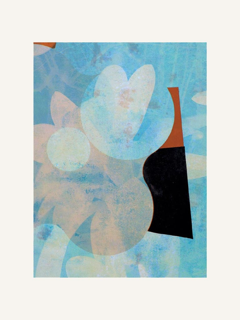 Francisco Nicolás Abstract Print - Flowers III - Contemporary, Abstract, Expressionism, Modern, Pop art, Geometric