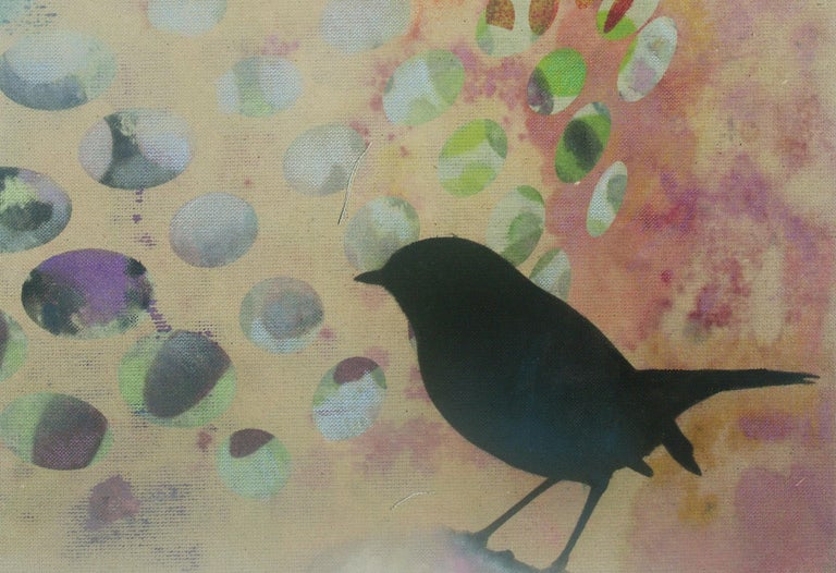 Birds 018- Contemporary, Abstract, Expressionist, Modern, Street art, Surrealist For Sale 3