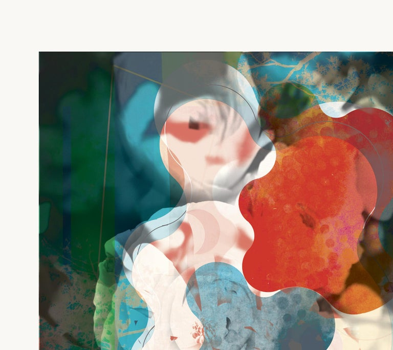 ST1a88-Contemporary , Abstract, Gestual, Street art, Pop art, Modern, Geometric For Sale 2
