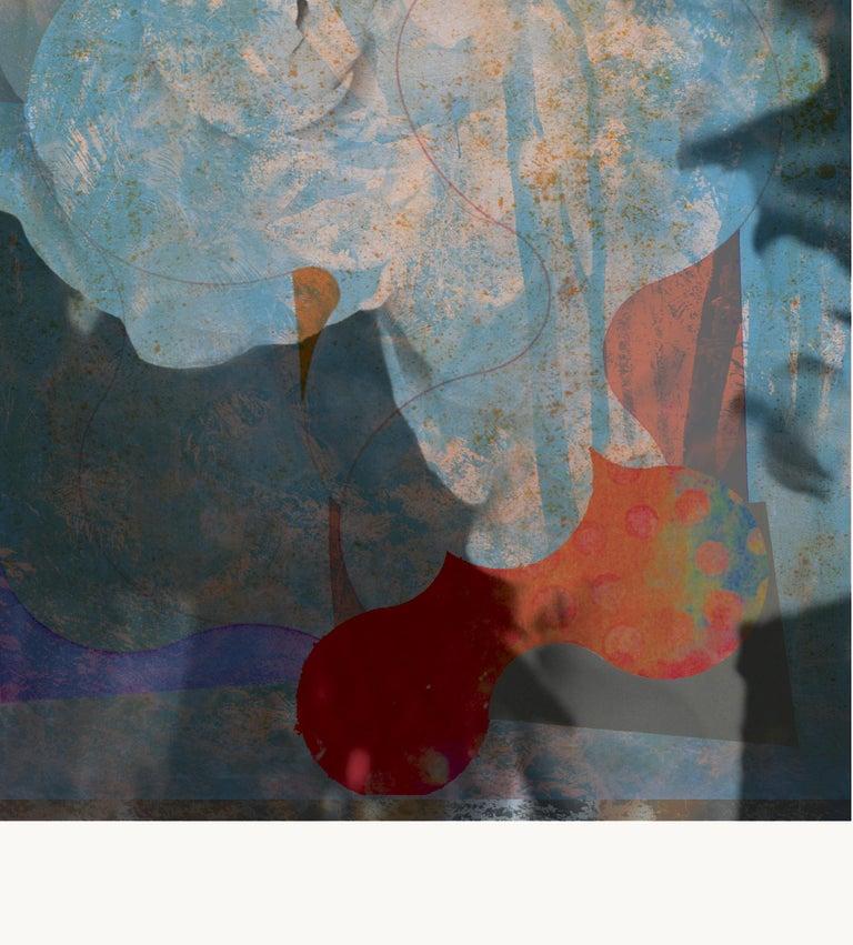 ST1a90-Contemporary , Abstract, Gestual, Street art, Pop art, Modern, Geometric - Print by Francisco Nicolás