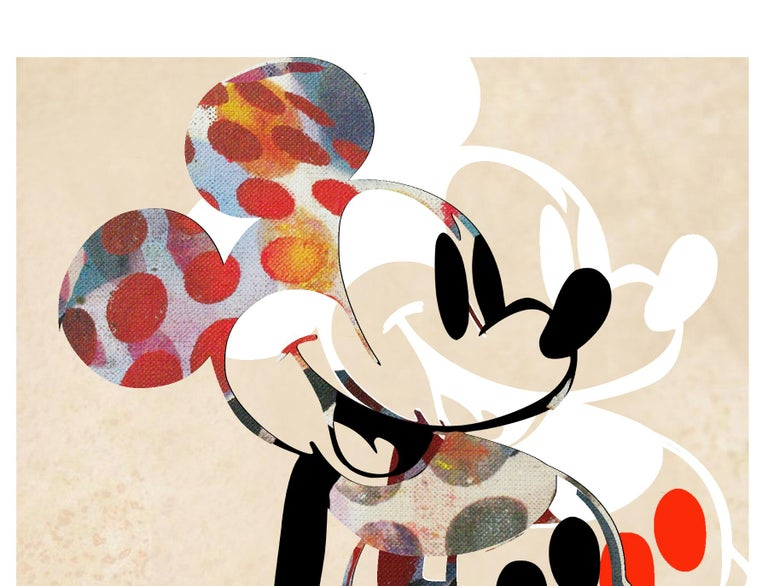M004-Figurative, Street art, Modern, Pop art, Contemporary, Abstract Mickey Mous For Sale 2