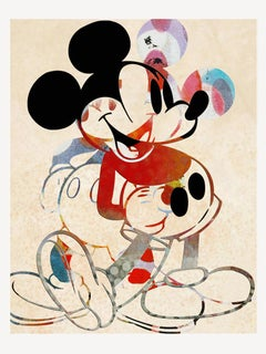 M006-Figurative, Pop art. Street art, Modern, Contemporary, Abstract Mickey Mous