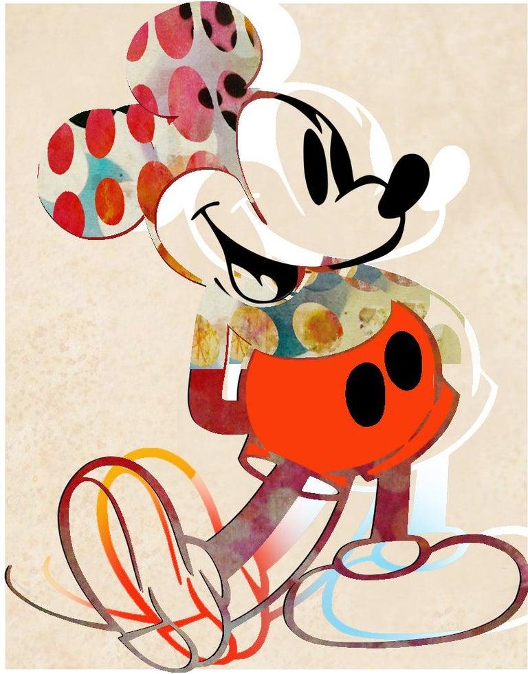 Francisco Nicolás Figurative Print - M06-Figurative, Pop art. Street art, Modern, Contemporary, Abstract Mickey Mous