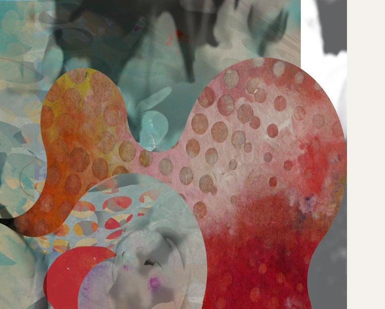 ST1B79-Contemporary , Abstract, Gestual, Street art, Pop art, Modern, Geometric - Print by Francisco Nicolás