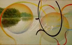 Water - Contemporary, Abstract, Landscape, Modern, Street art, Surrealist