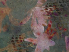 Flowers- Contemporary, Abstract, Expressionist, Modern, Street art, Surrealist