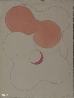 Stbi097-Contemporary, Abstract, Minimalism, Modern, Pop art, Geometric, Acrylic