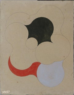 Stbk097-Contemporary, Abstract, Minimalism, Modern, Pop art, Geometric, Acrylic