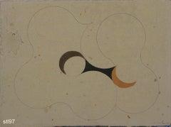Stblk097-Contemporary, Abstract, Minimalism, Modern, Pop art, Geometric, Acrylic