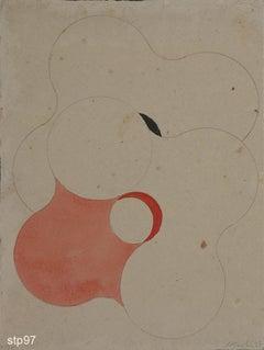 Stbp097-Contemporary, Abstract, Minimalism, Modern, Pop art, Geometric, Acrylic