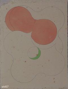 Std097-Contemporary, Abstract, Minimalism, Modern, Pop art, Geometric, Acrylic