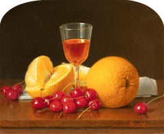 Still Life with Citrus and Cherries