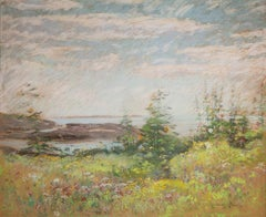 Celia Thaxter's Garden and View of the Sea, Appledore, Isles of Shoals