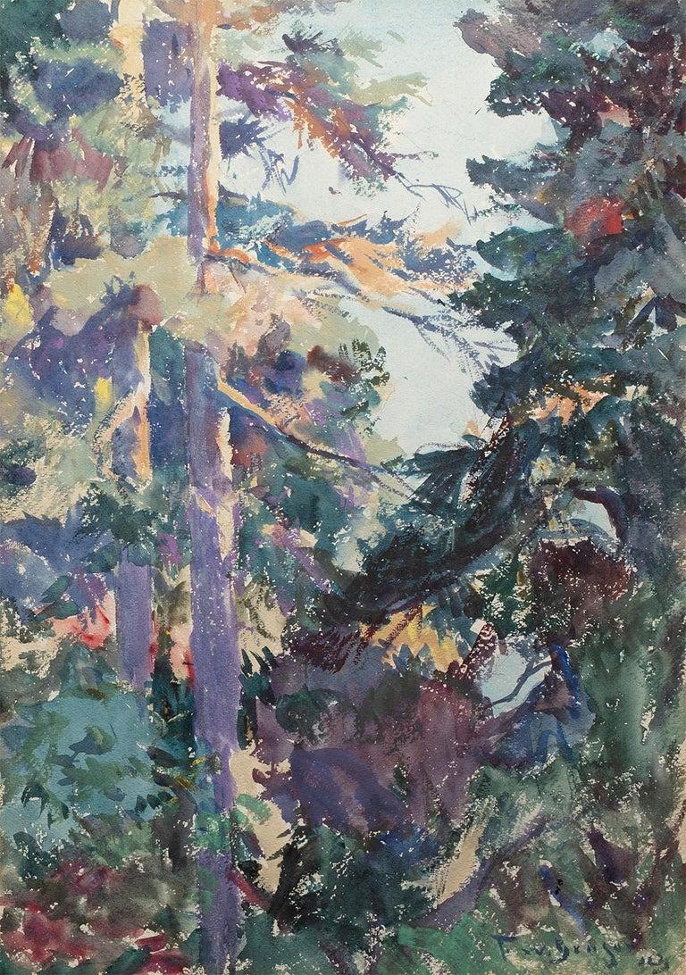 Frank Weston Benson Landscape Art - In the Deep Woods