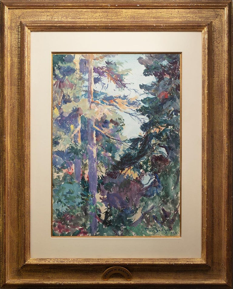 In the Deep Woods - Art by Frank Weston Benson